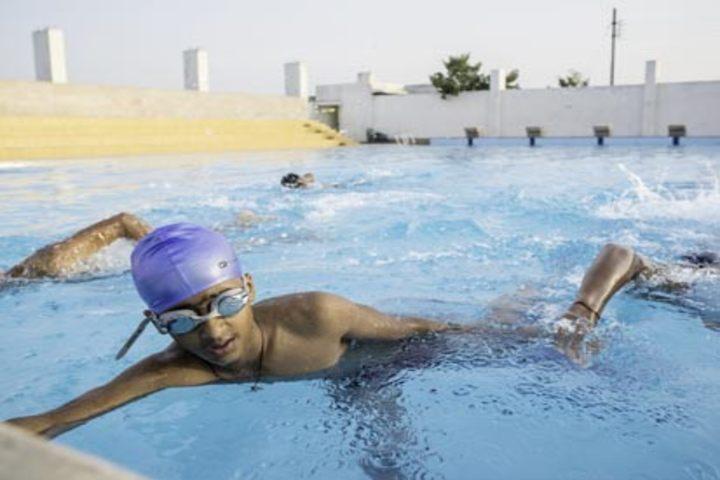 N H Goel World School-Swimming Pool