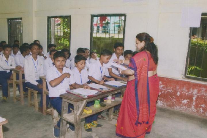 Public Higher Secondary School-Classroom View