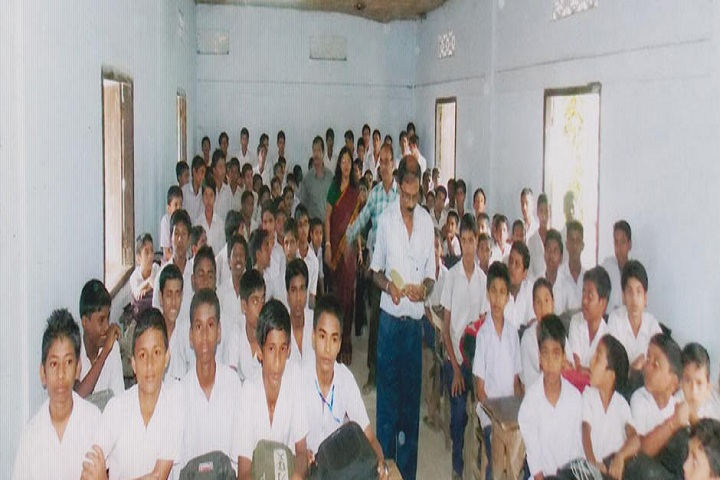 Public Higher Secondary School-Classroom