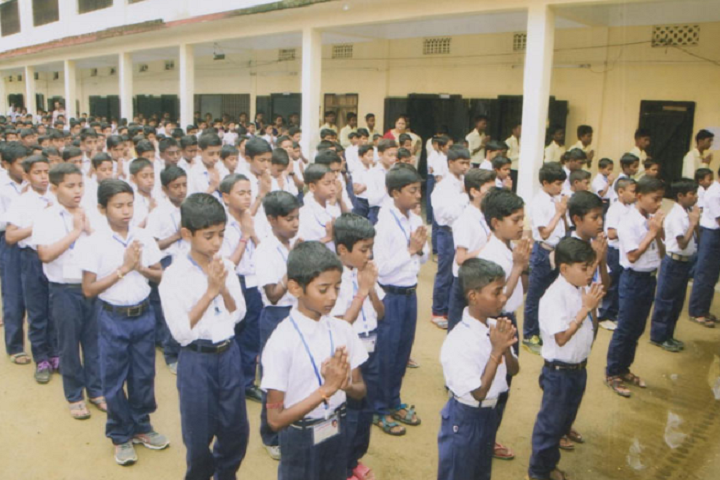 Public Higher Secondary School-Prayer