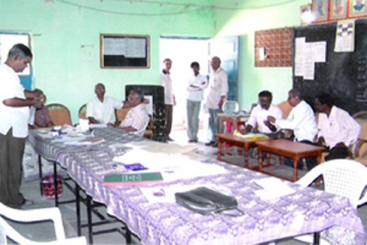 Nutan Vidyalaya Pre University College-Staff Room