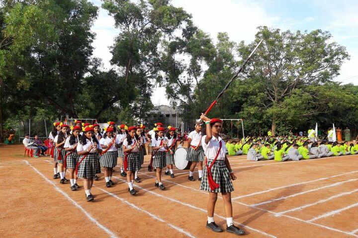 Basava Girls Pre-University College-Band Troop