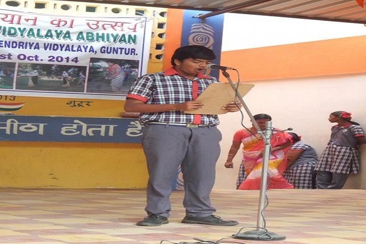 Kendriya Vidyalaya-Education day