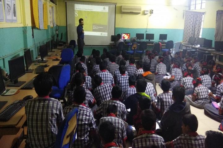 Kendriya Vidyalaya-Smarts classroom