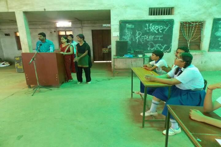 National Convent School-republic day