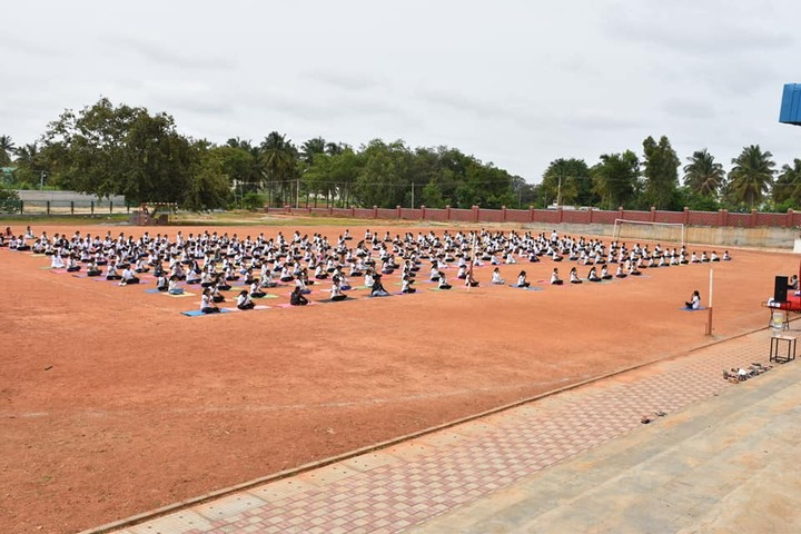 BGS Pre-University College-Yoga