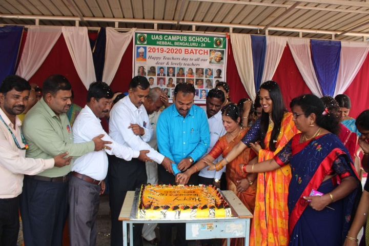 UAS And VC Pre-University College-Teachers Day