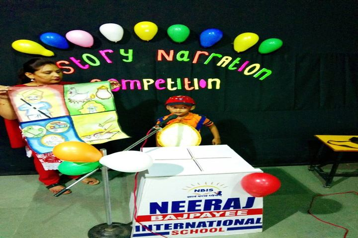 Neeraj Bajpayee International School-Story Narration