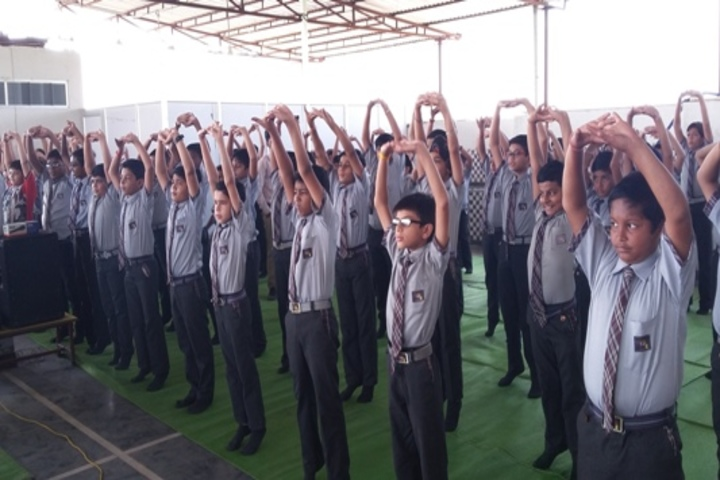 Neeraj Bajpayee International School-Yoga