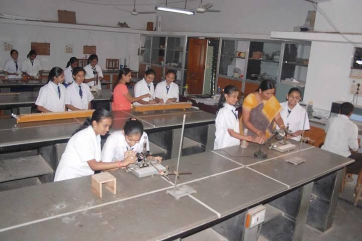 Sharnbasveshwar Residential Pre-University College-Physics Lab