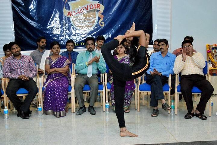 KLES Prerana Pre-University College-Yoga Day