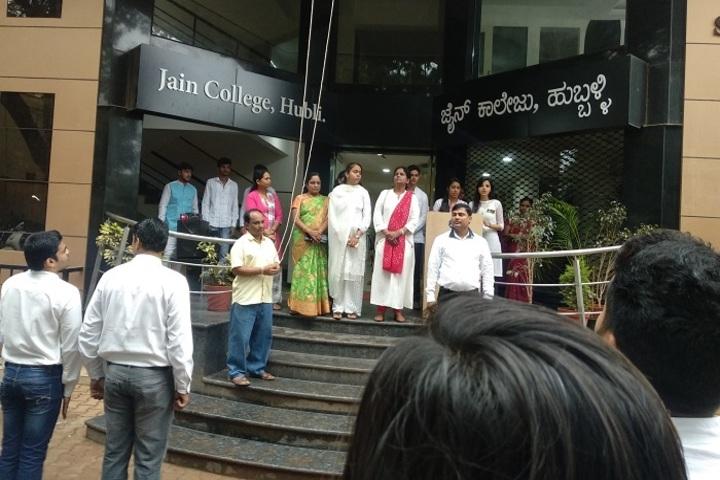 Jain Pre-University College-Independance Day