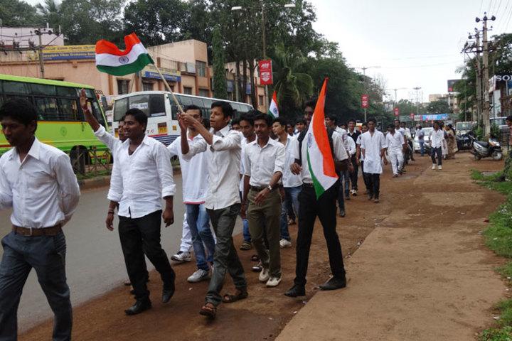 Jain Pre-University College-Rally