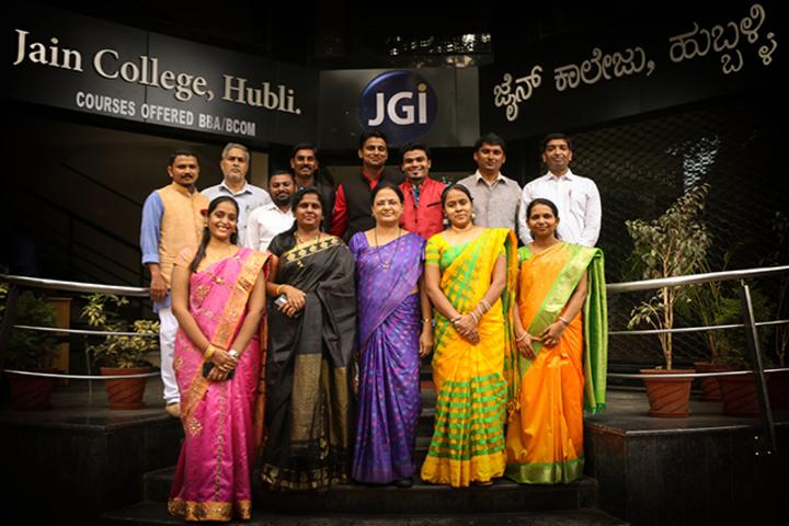 Jain Pre-University College-Teachers Day