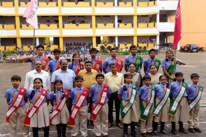 Neeraj Public School-investiture cermony