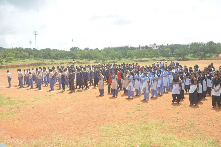 KSSS Pre-University Science and Commerce College-Assembly