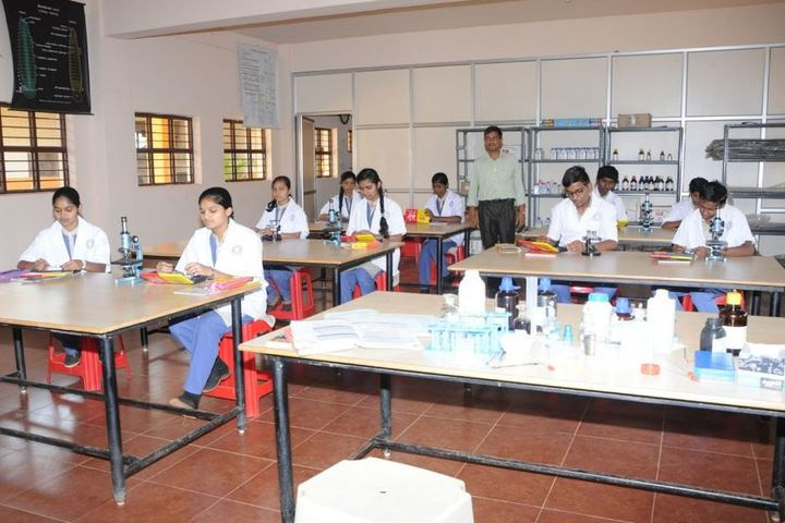KSSS Pre-University Science and Commerce College-Biology Lab