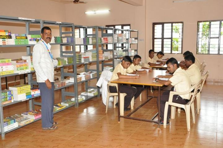 KSSS Pre-University Science and Commerce College-Library