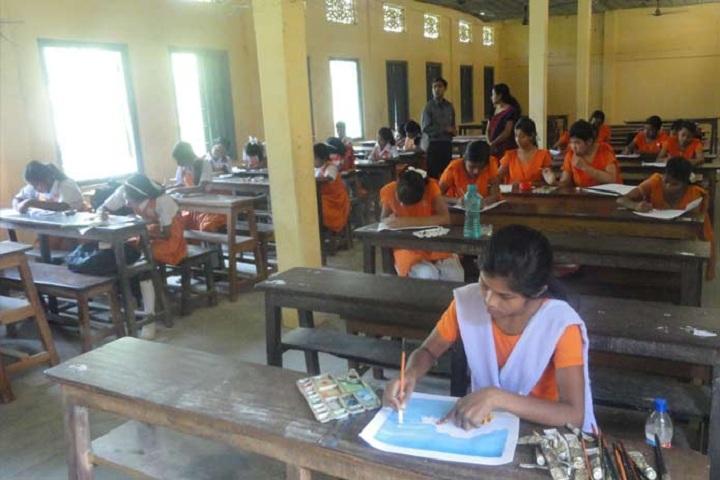Dinanath Nabakishore Girls High School-Classroom View