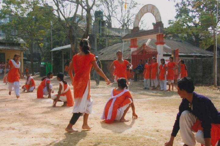 Dinanath Nabakishore Girls High School-Kho Kho