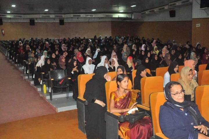 Al Sharay Girls Pre University College-Seminar