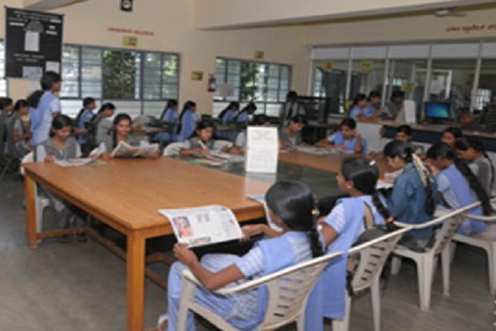 Jagadguru Sri Shivarathreeshwara Girls Pre University College-Library Reading Room