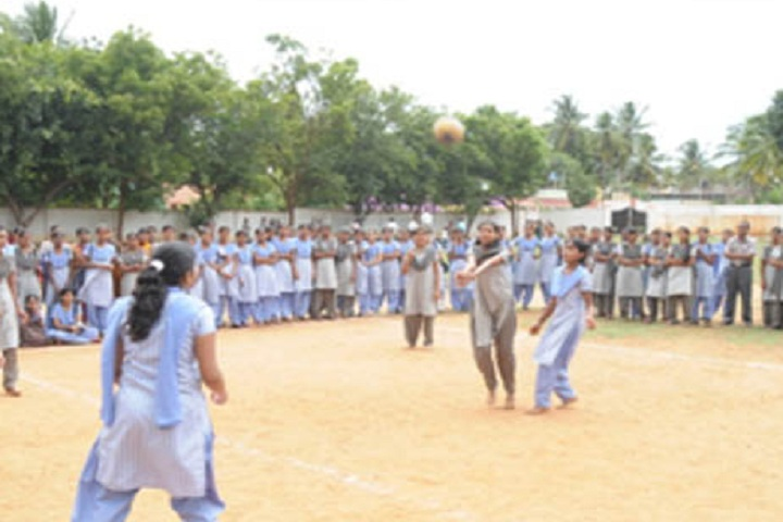 Jagadguru Sri Shivarathreeshwara Girls Pre University College-Sports