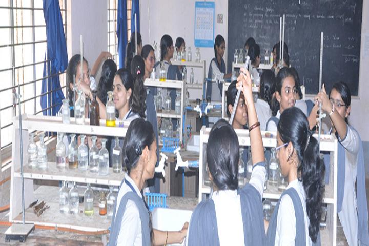 Saraswati Pre University College-Chemistry Laboratory