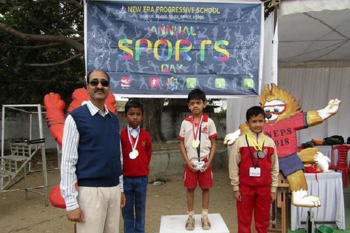 New Era Progessive School-sports day