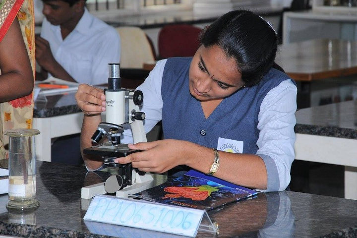 Mandavya Excellence Pre University College-Biology Laboratory