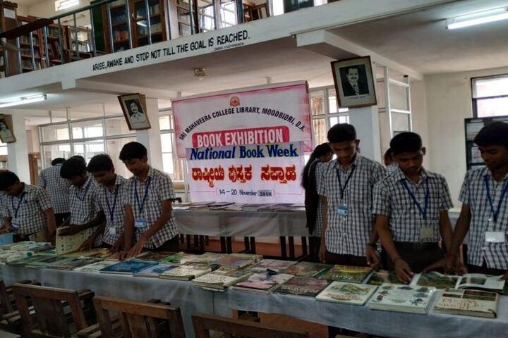 Sri Mahaveera Pre-University College-Book Exhibition