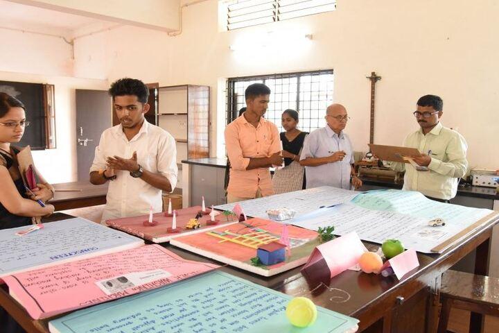 Sri Mahaveera Pre-University College-Science Exhibition