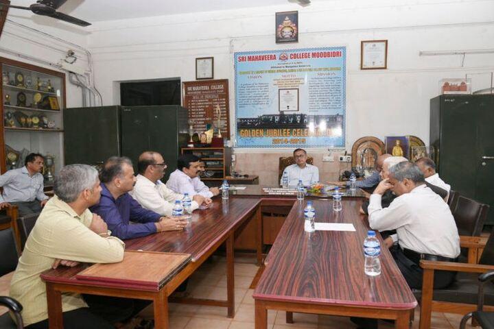 Sri Mahaveera Pre-University College-Staff Room