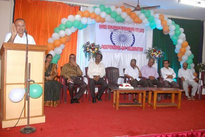 Shree Gokarnanatheshwara Pre-University College-Independence Day