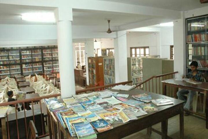 Shree Gokarnanatheshwara Pre-University College-Library