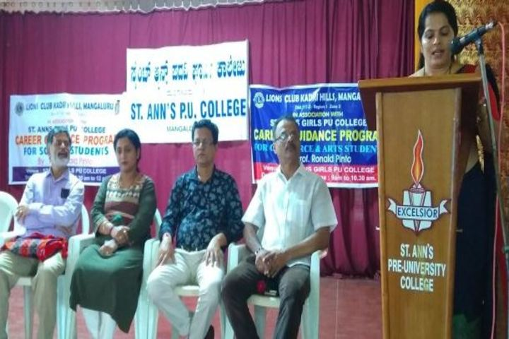 St Anns Pre-University College-Speech