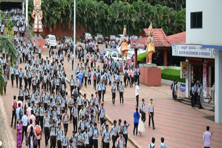 Alvas Pre-University College-Students