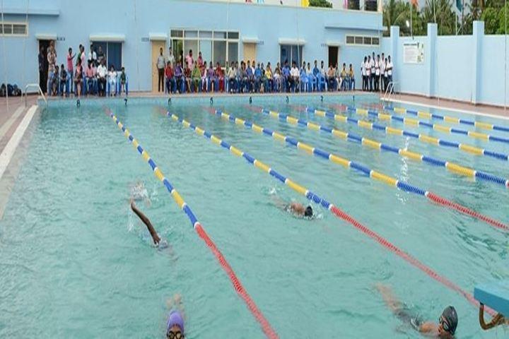 Alvas Pre-University College-Swiming Pool