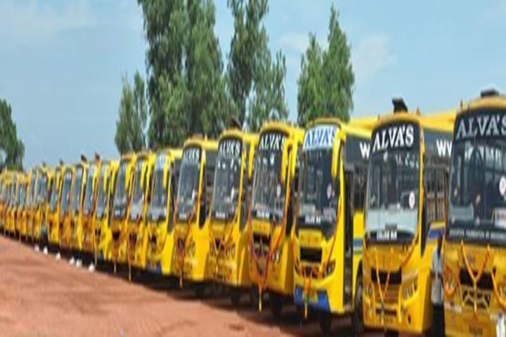 Alvas Pre-University College-Transport
