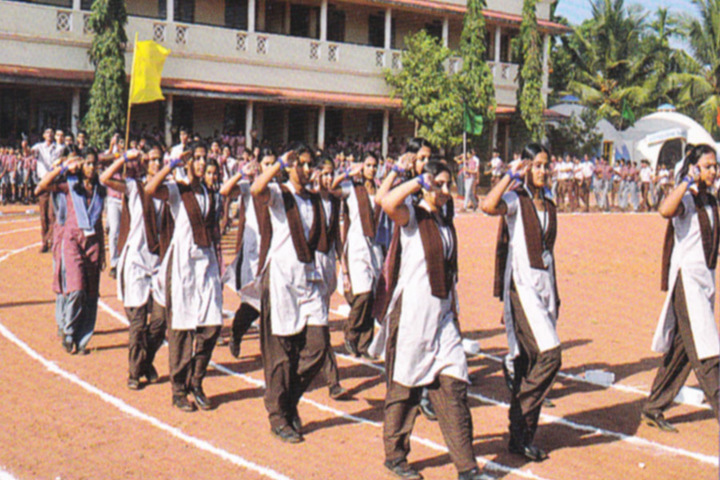Vidyarashmi Independent Pre University College-Morning Assembly