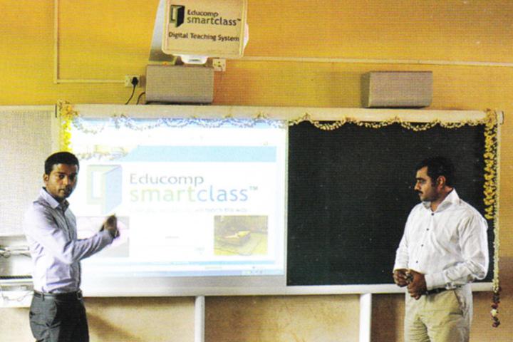 Vidyarashmi Independent Pre University College-Smart Classroom