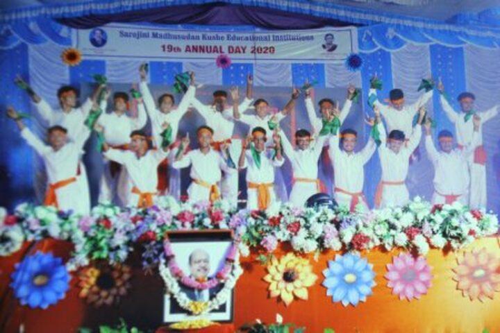 Sarojini Madhusudhan Kushe College-Annual Day