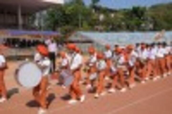 Sarojini Madhusudhan Kushe College-Band Troop