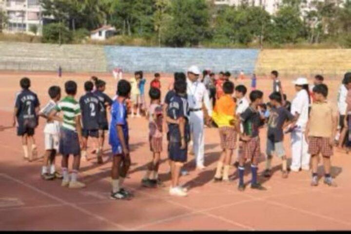 Sarojini Madhusudhan Kushe College-Sports Meet