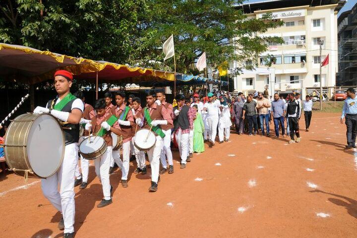 Al Badriya Composite Pre University College-Band Troop