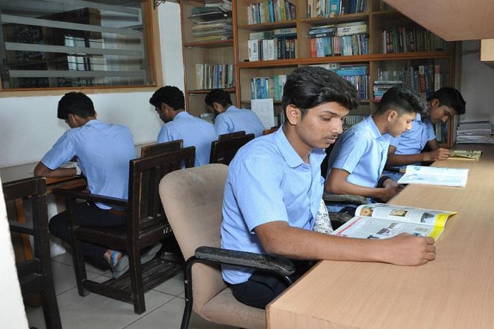 Brilliant Pre University College-Library