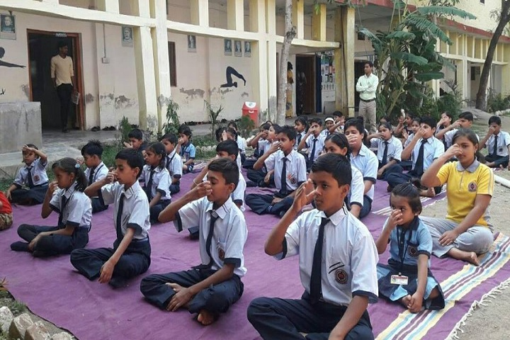 North Eastern Public School-Yoga
