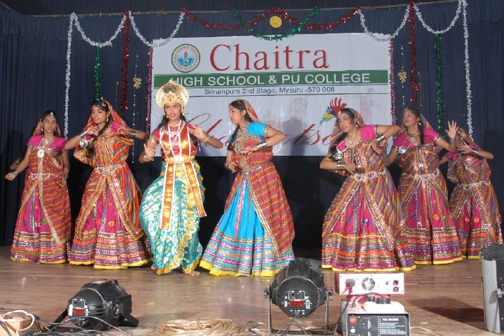 Chaitra Pre-University College-Cultural Dance