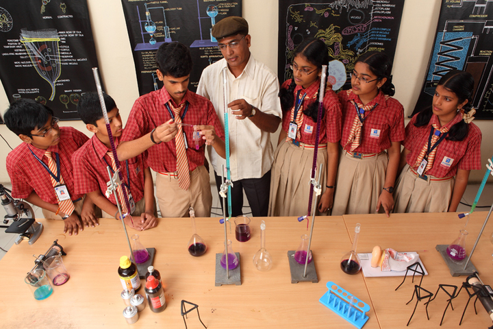 Sri Chaitanya Pre-University College- well-equipped labs