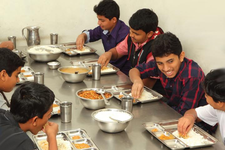 Sri Chaitanya Pre-University College-Food Mees